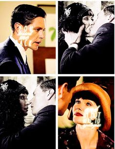 Jack: You kissed me back. Phryne: And I'm not here to apologize.