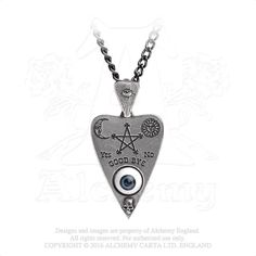 Ouija Board Necklace - talk to the dead inspired jewelry