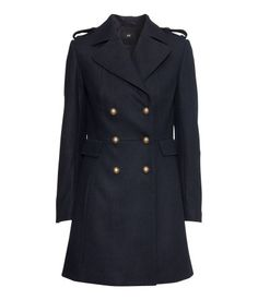 Double Breasted Coat by HM