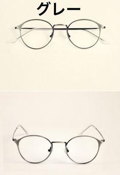メガネ精巧丸い丸型超軽量度いり度無しレンズキャンペーン