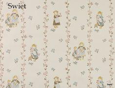 Vintage kinderbehang | Swiet