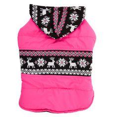 If I had a girl... cute! Top Paw® Fair Isle Coat | Sweaters & Coats | PetSmart