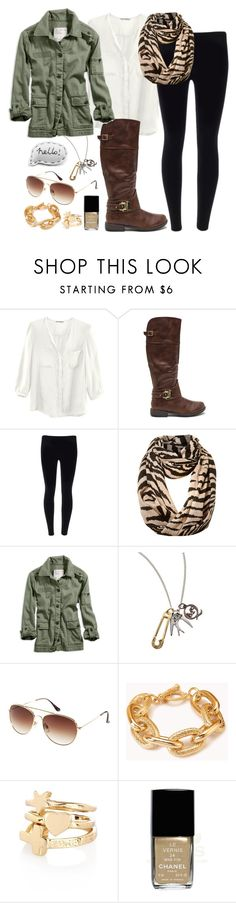 """{Somedays you just have to create your own sunshine}"" by dancingincombatboots ❤ liked on Polyvore featuring H&M, Vero Moda, American Eagle Outfitters, McQ by Alexander McQueen, Forever 21, River Island and Chanel"