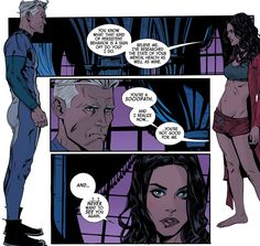Scarlet Witch #9 Pietro is right but he HAD to act all Pietro at the very moment Wanda was trying to become independent from him... but all of that aside they both look hot af