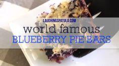 Easy Blueberry Pie Bars | Laughing Spatula Blueberry Recipes Easy, Blueberry Pie Bars, Cherry Pie Bars, Blueberry Cookies, Orange Juice Cake, Easy Christmas Dinner, Slow Cooker Pork Tenderloin, Chewy Granola Bars, No Bake Cake