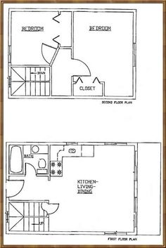 1000 images about small house plans on pinterest house for Cabin addition floor plans