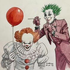 Joker VS Pennywise