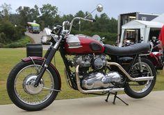 1974 Twin engined Triumph Bonneville