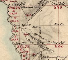 Section #3 of the 1866 Greenwood (Elk, CA) Survey