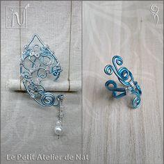 Par abus de langage et confusion, l'appellation de ces deux types de bijoux s'est orientée sur le mot manchette ou poignet d'oreille (ear cuff en anglais). Mais ce n'est pas le même type de bijou. Le tour d'oreille et le poignet d'oreille sont différent dans leur conception et leur façonnage... [ Lire la suite : www.le-petit-atelier-de-nat.fr/post/tour-d-oreille-ou-poignet-d-oreille ].
