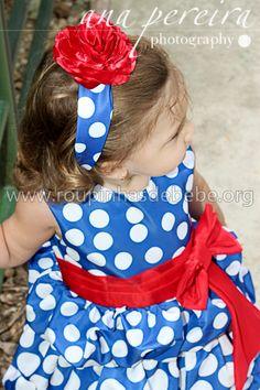 Detalhe da faixa de cabelo da Galinha Pintadinha para festa. http://www.eroupasdebebe.com/galinha-pintadinha-para-festa