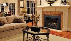 Best Modern Gas Fireplace  #Fireplace #Gasfireplace #GasInserts # Kingsman #HVAC   Source: Cozy Comfort Plus