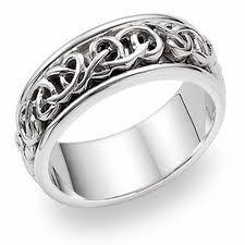 Platinum Celtic Wedding Bands And Bridal Inspiration