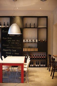 Pizza e Vino by Chris Connell Design. Simple