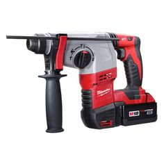 "Milwaukee Tool | Rotary Hammers | M18™ Cordless LITHIUM-ION 7/8"" SDS Plus Rotary Hammer Kit"