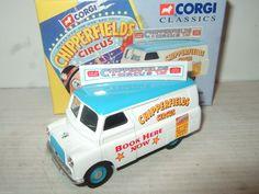 Corgi 96905 Bedford 10/12 CWT Advance Booking Van Chipperfields Circus 1:43