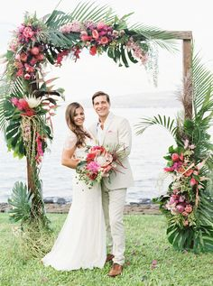 """Kristina Difazio and Kai Steuer met at New York City's Electric Zoo Festival in 2011. After a few years together, the pair decided to abruptly quit their Wall Street jobs, sell their apartment, and travel the world. They visited Africa, Thailand, Cambodia, Vietnam, and the Philippines before landing in Hawaii, where they planned to live full-time. """"I had an inkling that an engagement was on the horizon but had no idea when or where,"""" says Kristina, the director of sales and business…"""