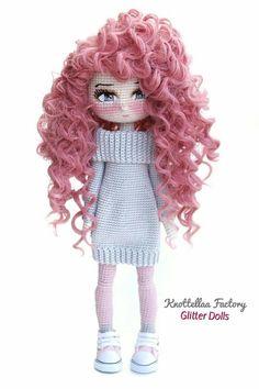 Cosas A Crochet Sewing Toys Crochet Crafts Crochet Art Fabric Dolls Handmade Toys Crochet Dolls Free Patterns Doll Patterns Lalylala Crochet Gratis, Crochet Art, Cute Crochet, Crochet Toys, Crochet Amigurumi Free Patterns, Crochet Doll Pattern, Knitted Dolls, Amigurumi Doll, Fabric Dolls