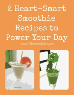 These fiber smoothie recipes are healthy, fill you up and are a great way to start your day! | Fit Bottomed Girls