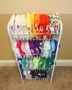 Cloth diaper storage. -Kat