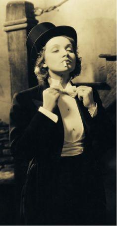 Marlene Dietrich in 'Morocco' (1930) ...