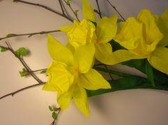 Narsissin teko-ohje, ei mini, mutta ohjetta voi soveltaa pienemmässä mittakaavassa :D