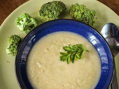 Brokkoli torzsája krémleves   Kertkonyha - Vegetáriánus receptek képekkel