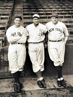 Gehrig, Foxx, Ruth