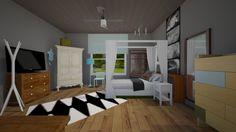 Roomstyler.com - 1variation of my bedroom