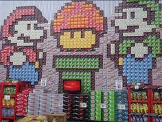 De la créativité sauce Mario chez... Carrefour
