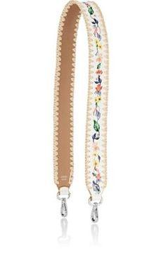 """FENDI """"Strap You"""" Shoulder Strap. #fendi #bags #shoulder bags #leather #"""