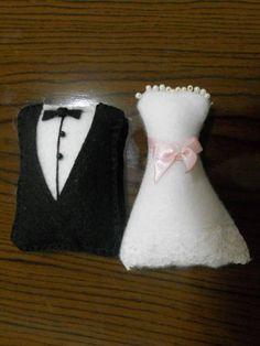 Bride and Groom - Sachê Noivinhos