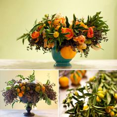Always in favor of adding a surprise to every floral design. Citrus = Fresh&Friendly