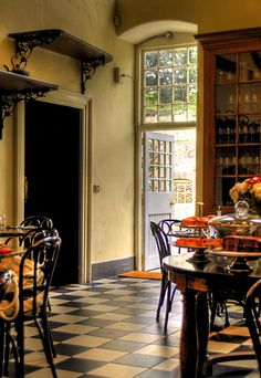 The restaurant at Castletown House, Celbridge, County Kildare, Ireland.  Photography by Declan O'Doherty.
