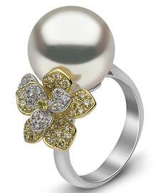 Yoko London South Sea pearl flower ring | JCK On Your Market