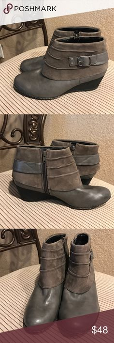 Euro Soft by Sofft Euro Soft my Sofft booties new without box. Zipper on the inside of bootie. Very comfortable, perfect fall bootie! Sofft Shoes Ankle Boots & Booties