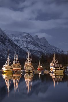 Night Boats, Norway°°