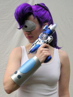 Futurama Cosplay on Pinterest | Futurama, Cosplay and Big ... Futurama Leela Costume Eye Patch