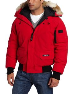 Canada Goose Men's Chilliwack Bomber (Red, Small) Canada Goose ++ You can get best price to buy this with big discount just for you.++