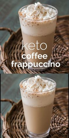 ) - A low carb, Keto Coffee Frappuccino just like Starbucks with less than 2 carbs! A perfect Starbucks -Keto Coffee Frappuccino net carbs!) - A low carb, Keto Coffee Frappuccino just like Starbucks with less than 2 . Keto Smoothie Recipes, Ketogenic Recipes, Low Carb Recipes, Smoothie Diet, Mince Recipes, Low Carb Smoothies, Healthy Coffee Smoothie, Soup Recipes, Coffee Breakfast Smoothie