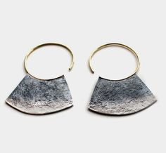 oxidised chop hoops | sophie hughes