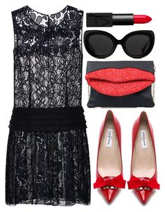 """#257"" by preet111 on Polyvore featuring Nina Ricci, L.K.Bennett, 3.1 Phillip Lim, NARS Cosmetics, LBD and weddingstyle"