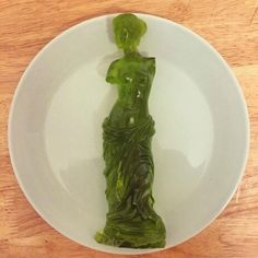 The Gummi Venus de Milo, Carved By Gummi Artisans Who Work Exclusively In The Medium Of Gummi... if you don't get the reference, I don't know if we can be friends