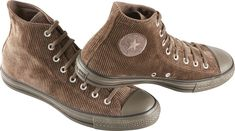 ConverseChuck Taylor All Star High Top Corduroy ShoesBrown -- I wish they had more colors in corduroy