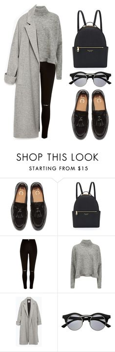 """""""Don't Let Me Go"""" by eduardacardoso1999 ❤ liked on Polyvore featuring Henri Bendel, River Island, Designers Remix, Zara and Retrò"""