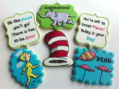 1 Dozen Oh The Places Youll Go Cookies by SweetCBakeShop on Etsy, $48.00