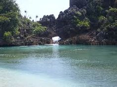 The Blue Langoon at Sempu Island - Indonesia