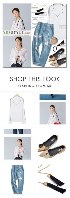 """""""No 468:YesStyle - 10% off coupon (8)"""" by lovepastel ❤ liked on Polyvore featuring Chuoku, Seirios, yesstyle and prefall"""