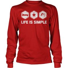 LIFE IS SIMPLE  BASKETBALL Tshirt  #gift #ideas #Popular #Everything #Videos #Shop #Animals #pets #Architecture #Art #Cars #motorcycles #Celebrities #DIY #crafts #Design #Education #Entertainment #Food #drink #Gardening #Geek #Hair #beauty #Health #fitness #History #Holidays #events #Home decor #Humor #Illustrations #posters #Kids #parenting #Men #Outdoors #Photography #Products #Quotes #Science #nature #Sports #Tattoos #Technology #Travel #Weddings #Women