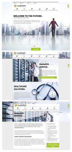 (2015) Interface Layout für ein IT-Unternehmen aus Wien. Das breite Service-Portfolio sollte möglichst prominent präsentiert werden. Gelöst wurde die Aufgabe durch eine eigene Navigation, die nicht nur visuell durch Icons hervorgehoben wird, sondern auch beim Scrollen mitwandert. Welcome To The Future, Portfolio, Layout, Shopping, Business, Page Layout